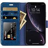 Labato iphone XR ケース 手帳型 アイフォンxr ケース 手帳型 本革 スタンド カード収納 財布……