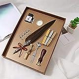 Pen Vintage calligraphie plume Dip écriture à la plume d'encre Set...