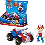 PAW PATROL Ryder's Vehicle with Collectible, for Kids Aged 3 and up Ryder's Rescue ATV vehículo...