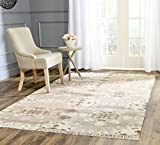 Safavieh Natural Kilim Collection NKM318A Flatweave Grey and Multi Wool Area Rug (3' x 5')