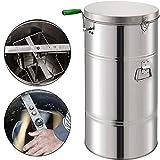 BestEquip Manual Honey Extractor 2 Frame Bee Extractor Stainless Steel...