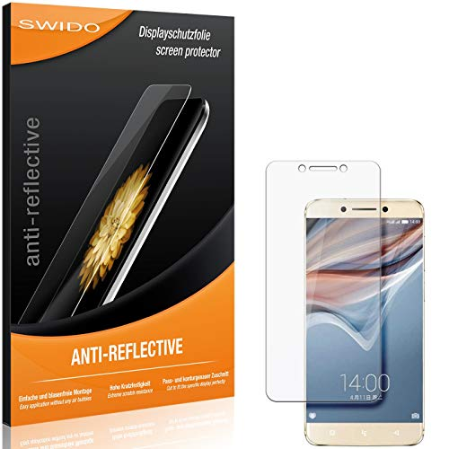 2 x SWIDO® Protector de pantalla LeEco Le Pro 3 AI Edition