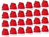 PROMOTION: Lot de 24 Bonnets de Père Noel mere Noël qualité Alsino (wm-32)...