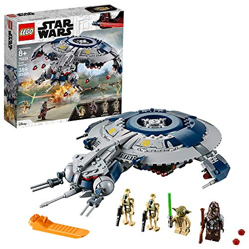 LEGO Star Wars: The Revenge of the Sith Droid Gunship 75233 Building Kit (329 Pieces)