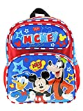 Mickey Mouse 12' Toddler Size Backpack - Hey Friends A17269