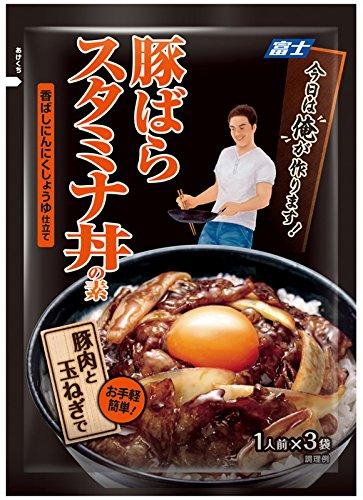 富士 今日は俺が作ります 豚ばらスタミナ丼の素 81g×4袋