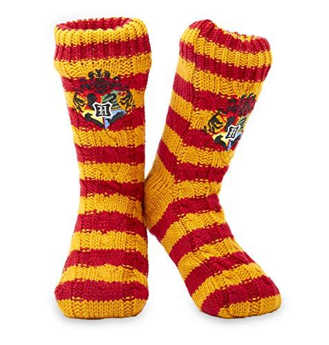 Harry Potter Winter Socken - 1 Paar Kuschelsocken Flauschige - Damen Mädchen Herren Hausschuhsocken...