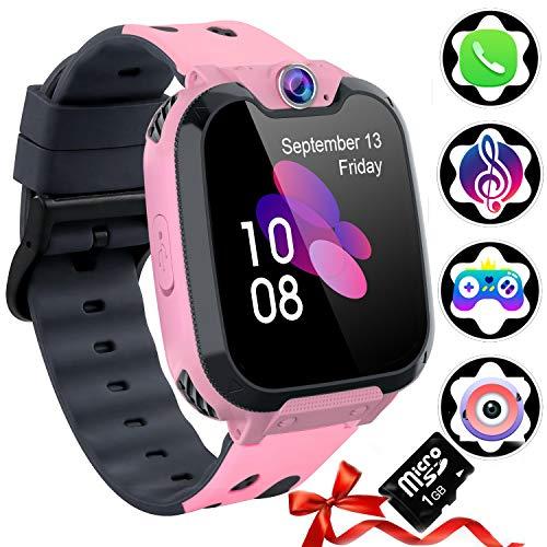 Smart Watch Phone per Bambini [Scheda SD Inclusa] - Smartwatch per Ragazzi E Ragazze con Lettore...