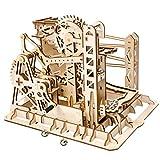 YVSoo Puzzle 3D en Bois Montagnes Russes Montagne Mécanique Maquette en Bois Casse tête de 3D Puzzle Jeu de Construction