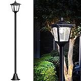 67' Solar Lamp Post Lights Outdoor, Solar Powered Vintage Street...