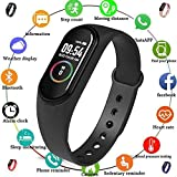 SBA999 VA- 250802 M4 Smart Health   Fitness   Band   Immunity Tracker Body Functions Steps, Calorie - Step Counter, Blood Pressure, Heart Rate – Sleep Monitor OLED Screen for All Mobile Smart Phone