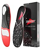 Easyfeet Arch Support Insoles for Men and Women Shoe Inserts - Orthotic Inserts - Flat Feet Foot - Running Athletic Gel Shoe Insoles - Orthotic Insoles for Arch Pain High Arch - Boot Insoles