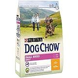 Purina Dog Chow Small Adult pienso para Perro pequeño Adulto Pollo 4 x 2,5 Kg