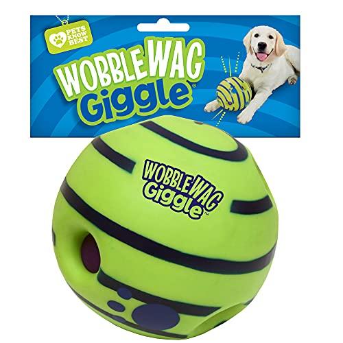 Wobble Wag Giggle Ball, Interactive Dog Toy, Fun...