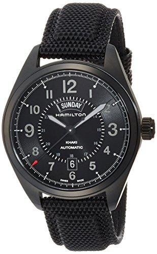 HAMILTON Khaki Field Herren-Armbanduhr 42MM Armband LEINEN AUTOMATIK H70695735