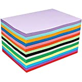 100 A4 papier couleur feuilles cartonnées couleur A4 cartes colorées Papier...