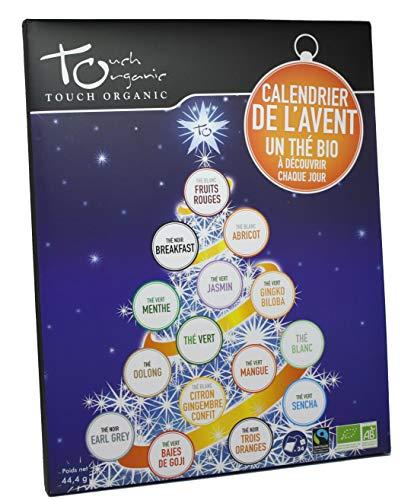 Touch Organic Calendario de adviento - Tés ecológicos - 24