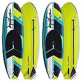 Wavestorm 9' 6' Stand Up Paddle Board Bundle 2-Pack