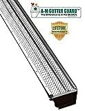 A-M Aluminum Gutter Guard 6' (50', Mill Finish)