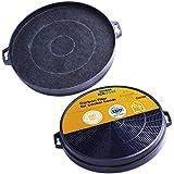 2 filtres à charbon (SPARSET) 210mm Remplacement pour DREHFLEX AK01 hotte...