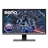 BenQ EL2870U - Monitor Gaming de 28' 4K UHD (3840x2160, 1ms, 60Hz, 2x HDMI, Modo HDR, Fre-Sync, DisplayPort, Altavoces, Eye-Care, Sensor Brillo Inteligente Plus, Flicker-free), Negro