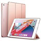 ESR Coque/Étui à Trois Volets Compatible avec iPad 8/7 (8e Gén 2020/7e Gén 2019) 10.2 [Auto Mise en Veille/Réveil] [Mince-Légère] Séries Ascend –Or Rose