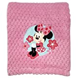 Disney Popcorn Coral Fleece Blanket, Minnie