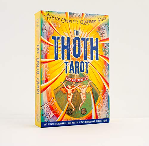 The Thoth Tarot Book and Cards Set: Aleister Crowley's...