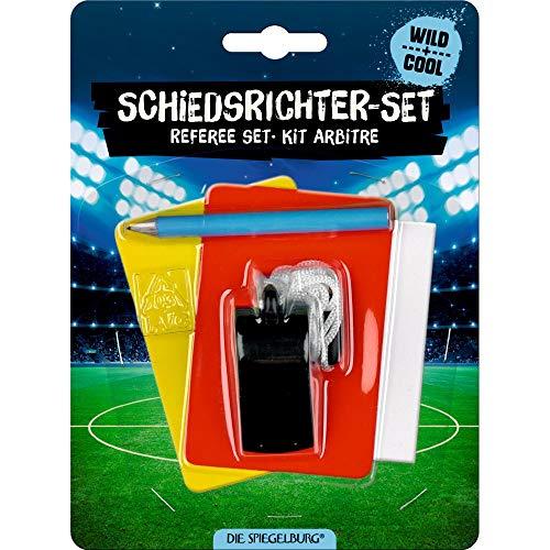 DIE SPIEGELBURG 14701 Schiedsrichter-Set Wild+Cool Fußball