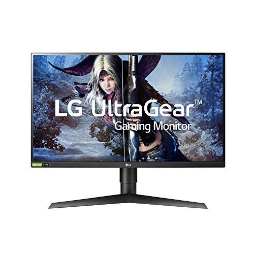 LG 27GL83A-B 27 Inch Ultragear QHD IPS 1ms NVIDIA...