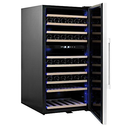 Qlima Cantinetta frigo 110 bottiglie vino 10 ripiani casa ristorante FWK16110