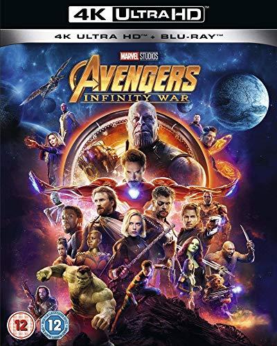 Avengers Infinity War [4K UHD + Blu-ray]