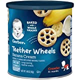 Gerber Teether Wheels, Banana Cream, 1.48 Ounce (Pack of 6)