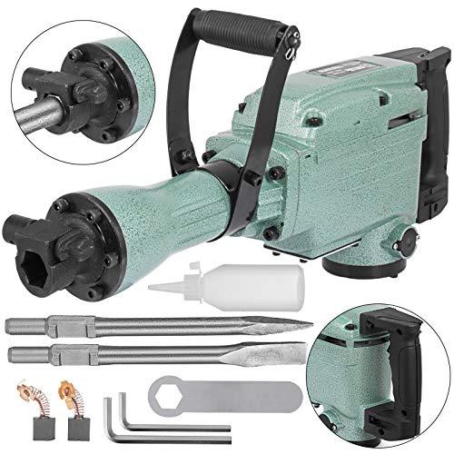 Mophorn 2200 Watt Abbruchhammer incl. Zubehör Meisselhammer Stemmhammer Abbruch Braker (2200w)