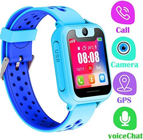 LDB Kinder Smartwatch, Smart Watch Phone LBS Tracker Mikro Chat Anruf SOS Kamera...