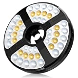 Patio Umbrella Lights, TOTOBAY Patio Umbrella Light Rechargeable 48 LED Lights 3 Modes Cordless Umbrella Pole Light for Patio Umbrellas, Camping Tents and Other Outdoor Use