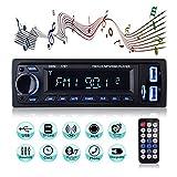 Autoradio Bluetooth, MEKUULA 1 Din Radio de Voiture Audio, Stereo FM Radio...