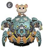 """Issue de la gamme Games: Over Watch S5, la figurine 6"""" WRECKING Ball rejoint la collection Funko Pop! Chaque personnage mesure environ 16 cm de haut et est emballé dans une boîte illustrée qui laisse apparaître le personnage. Découvrez tous les autre..."""