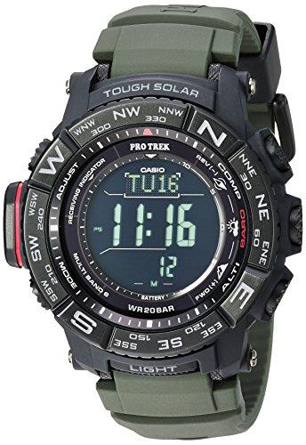 Casio Men's Pro Trek Stainless Steel Quartz Watch with...