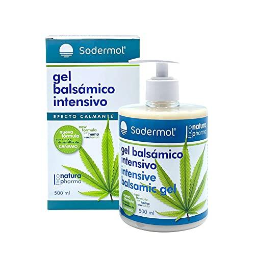Gel crema muscular con Cannabis para dolores musculares, espalda, hombro, rodilla, lumbalgia, tendinitis fórmula antiinflamatoria con aceite de semilla cañamo