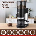 Mueller Ultra-Grind Conical Burr Grinder Professional Series, Innovative Detachable PowderBlock Grinding Chamber for Easy Cleaning and 40mm Hardened Gears for Long Life 25