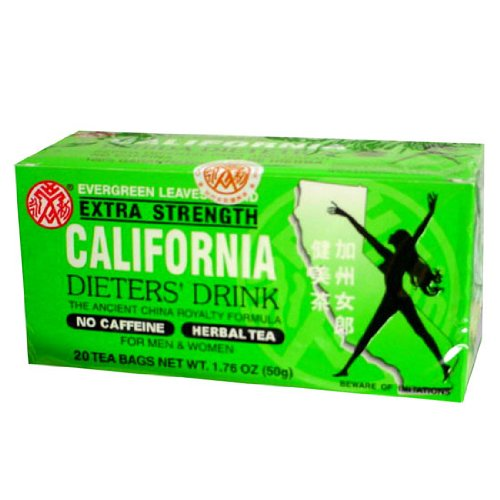 36pk - California Tea - Dieters Drink - 20 bags
