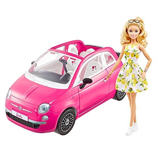 【Amazon.co.jp限定】 バービー(Barbie) フィアット 500 【着せ替え人形・のりもの 】【ドール、アクセサリ...