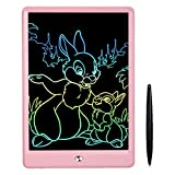 FLUESTON LCD Writing Tablet 10 Inch Drawing Tablet for Kids, Colorful...