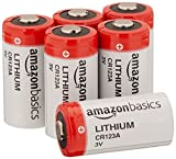 AmazonBasics Lithium CR123a 3 Volt Battery - Pack of 6 (Appearance may Vary)