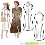 Style Arc Patrn de costura  Vestido Armidale (tallas 18-30)  Clic para otros tamaos disponibles