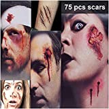 HANPURE Halloween Tatuajes Halloween Zombie Tattoo - 75 Estilos Horror...