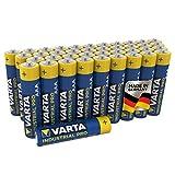 Varta - 80411286501 - Piles alcalines Industrial AAA Micro LR03 - pack de...