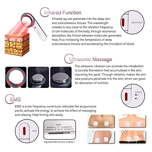 3 in 1 Fat Remover Machine EMS Sliming Massager for Weight Loss Skin Device for Arm Leg Stomach Massager 2