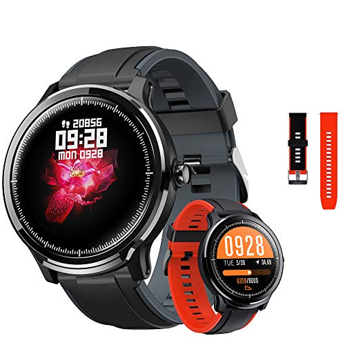 kospet Probe Sports Smart Watch Fitness Watch, 1.3 inch Full Touch Screen, IP68 Waterproof Activity Tracker, Health Monitor Watch, Compatible with Android/iOS